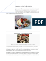 Gastronomia de La India