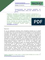 Desarrollo y Bioacumulacion