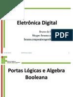 Capítulo 2 - Portas Lógicas e Algebra Booleana