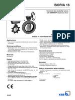 AMRI ISORIA 16 Type Series Booklet Data