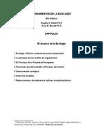 Fundamentos de La Ecología, Trad. Octavio Chon