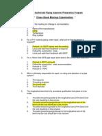 API 570 - Close Book Mockup Exam Final