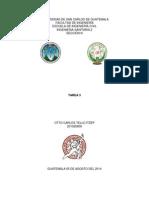 Obras Básicas y Complementarias de Alcantarillado (Tarea 3)