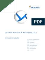ABR11.5A Installguide Es-ES