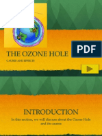 Ozone Hole - Cause and Effects
