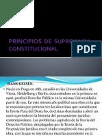 Principios de Supremacía Constitucional Edu.