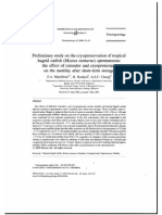 Preliminary Study on the Cryopreservation of Bagrid Catfish Spermatozoa_abstract