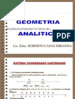 Curso Completo de Geometria Analitica