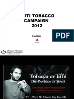 Anti Tobacco 2012 Presentation SKMCHRC