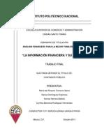 Estados Financieros Tesis IPN