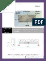 Generalidades y Especificaciones de Concreto Reforzado-UNIDAD1