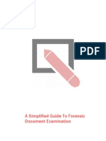 Simplified Guide Questioned Documents