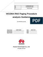 WCDMA RNO Paging Procedure Analysis Guidance-20040716-A-2.0
