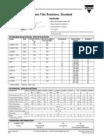 Datasheets Resistors Condensadors Diodes