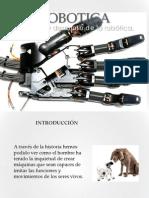 Origenes y Desarrollo de La Robotica