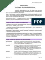 António Nóvoa-Para Uma Análise Das Instituições Escolares
