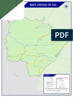 Mapa CNT Mato Grosso Do Sul