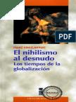 El Nihilismo Al Desnudo- Franz Hinkelammert