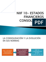 Niif 10- Estados Financieros Consolidados