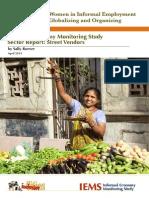 IEMS Sector Full Report Street Vendors