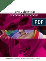 Mujeres y Violencia Silencios y Resistencia