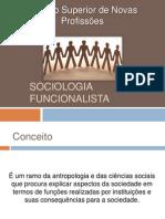Apresentação Sobre Sociologia Funcionalista