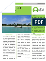 Newsletter GVI Mexico January-March 2014