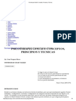 Psicoterapia Gestalt_ Conceptos, Principios y Técnicas