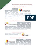 Ministerios Del Ecuador y Sus Funciones