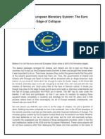 Crisis of the European Monetary System