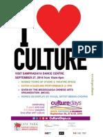 Culture Days 2014
