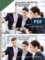 Comunicare in Cadrul UDC