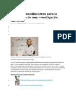 02 Pasos y Procedimientos Para La Realización de Una Investigación Científica