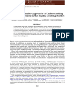 A Multiple Lender Approach to Understanding Supply and Search in the Equity Lending Market