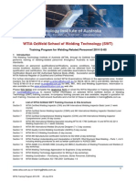 Wtia Training Program 2014