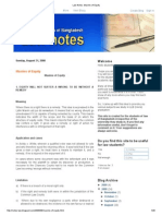 Law Notes_ Maxims of Equity