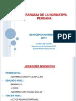 88521868 Jerarquia de La Normativa Peruana