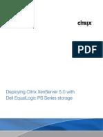Citrix XenServer Equallogic Final 2