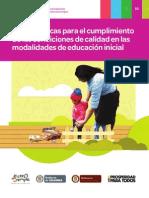 MODALIDADES EDUCACION INICIAL