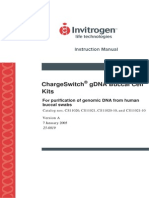 Chargeswitch GDNA - Buccal - Manual