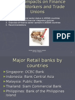 ASEAN Impact on Workers and Trade Unions in Finance Sector