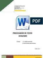 Manual Office Word Avanzado 2010