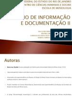 Grupo 3 - Seminário de Informação e Documentação II