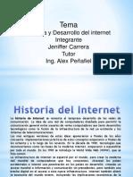 Historia y Desarrollo Internet