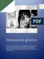 Violencia de Géneros