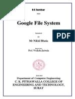 Google File System Pdf
