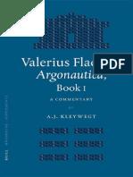Valerius Flaccus, Argonautica, Book I_ a Commentary - A. J. Kleywegt (2005) (1)