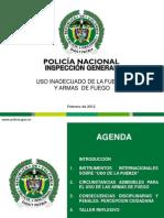 USO INADECUADO DE LA FUERZA Y ARMAS DE FUEGO.ppt