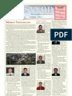 Synod Bulletin December 8, 2009