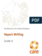 6 Report Writing